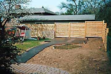 Holz im garten gartengestaltung jordan for Gartengestaltung jordan
